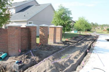 Irrigation System in Suburban Areas