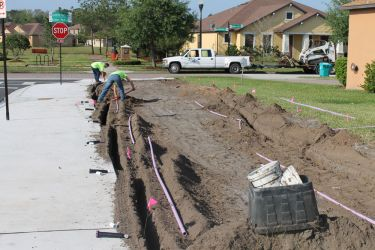 Installation Team for Irrigation System