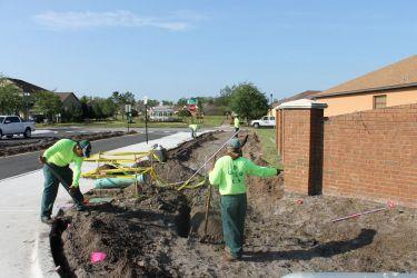 Irrigation Installation Team